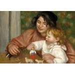 Puzzle  Grafika-01878 Auguste Renoir: Gabrielle and the Artist's Son, Jean, 1895-1896