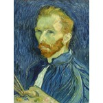 Puzzle  Grafika-01915 Vincent Van Gogh: Self-Portrait, 1889