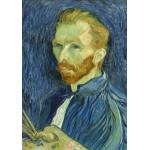 Puzzle  Grafika-01916 Vincent Van Gogh: Self-Portrait, 1889