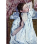 Puzzle  Grafika-01929 Mary Cassatt: Girl Arranging Her Hair, 1886