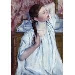 Puzzle  Grafika-01929 Mary Cassatt: Girl Arranging Her Hair, 1886