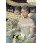 Puzzle  Grafika-01932 Mary Cassatt: The Loge, 1882