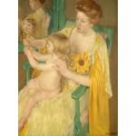 Puzzle  Grafika-01934 Mary Cassatt: Mother and Child, 1905