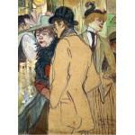 Puzzle  Grafika-01993 Henri de Toulouse-Lautrec: Alfred la Guigne, 1894