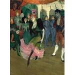 Puzzle  Grafika-01996 Henri de Toulouse-Lautrec: Marcelle Lender Dancing the Bolero in