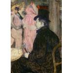 Puzzle  Grafika-02001 Henri de Toulouse-Lautrec: Maxime Dethomas, 1896