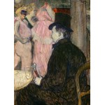 Puzzle  Grafika-02002 Henri de Toulouse-Lautrec: Maxime Dethomas, 1896
