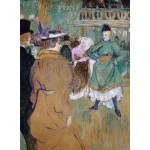 Puzzle  Grafika-02003 Henri de Toulouse-Lautrec: Quadrille at the Moulin Rouge, 1892