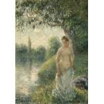 Puzzle  Grafika-02019 Pissarro Camille: The Bather, 1895