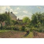 Puzzle  Grafika-02033 Camille Pissarro: The Artist's Garden at Eragny, 1898