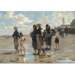 Puzzle  Grafika-02058 John Singer Sargent: Setting Out to Fish, 1878