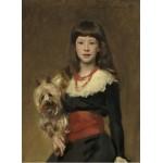Puzzle  Grafika-02064 John Singer Sargent: Miss Beatrice Townsend, 1882