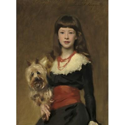 Puzzle Grafika-02065 John Singer Sargent: Miss Beatrice Townsend, 1882