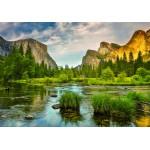 Puzzle  Grafika-02082 Yosemite-Nationalpark