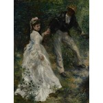Puzzle  Grafika-02087 Pierre-Auguste Renoir: La Promenade, 1870