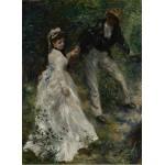 Puzzle  Grafika-02089 Pierre-Auguste Renoir: La Promenade, 1870