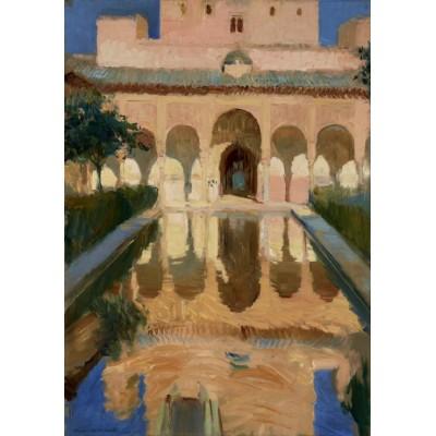 Puzzle Grafika-02111 Joaquin Sorolla y Bastida: Hall of the Ambassadors, Alhambra, Granada, 1909
