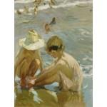 Puzzle  Grafika-02113 Joaquin Sorolla y Bastida: The Wounded Foot, 1909