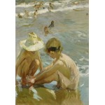 Puzzle  Grafika-02114 Joaquin Sorolla y Bastida: The Wounded Foot, 1909