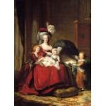 Puzzle  Grafika-02181 Louise-Élisabeth Vigee le Brun: Marie Antoinette and her Children, 1787