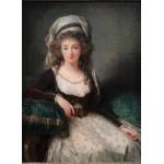 Puzzle  Grafika-02191 Louise-Élisabeth Vigee le Brun: Madame d'Aguesseau de Fresnes, 1789