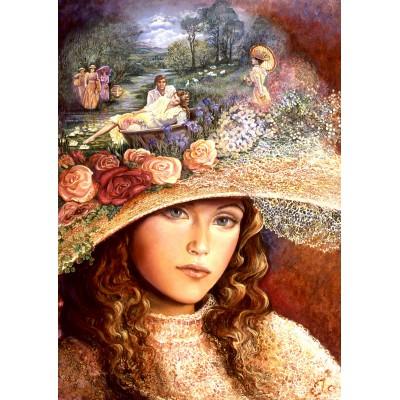Puzzle Grafika-T-00019 Grandmother's Hat