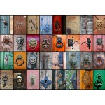 Puzzle  Grafika-T-00042 Collage - Türen