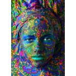 Puzzle  Grafika-T-00052 Face Art:  Portrait einer Frau