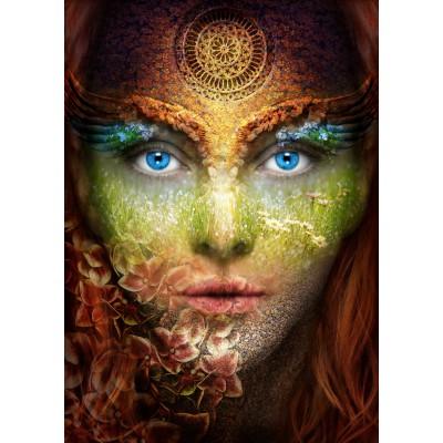 Puzzle Grafika-T-00053 Woman Nature