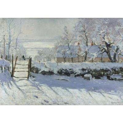 Puzzle Grafika-T-00060 Claude Monet: Die Elster, 1868-1869