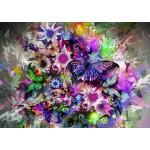Puzzle  Grafika-T-00078 Schmetterlinge