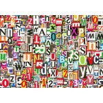 Puzzle  Grafika-T-00079 Buchstabensalat
