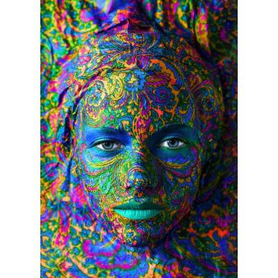 Puzzle Grafika-T-00082 Face Art:  Portrait einer Frau