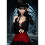Puzzle  Grafika-T-00095 Gothic: Frau mit Rabe
