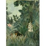 Puzzle   Henri Rousseau: The Equatorial Jungle, 1909