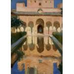 Puzzle   Joaquin Sorolla y Bastida: Hall of the Ambassadors, Alhambra, Granada, 1909