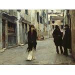 Puzzle   John Singer Sargent: Street in Venice, 1882