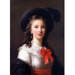 Puzzle   Louise-Élisabeth Vigee le Brun: selfportrait, 1781
