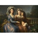 Puzzle   Louise-Élisabeth Vigee le Brun: The Marquise de Pezay, and the Marquise de Rougé with Her Sons Alexi