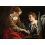 Puzzle   Orazio Gentileschi and Giovanni Lanfranco: Saint Cecilia and an Angel, 1617/1618
