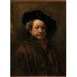 Puzzle   Rembrandt - Selbstporträt, 1660