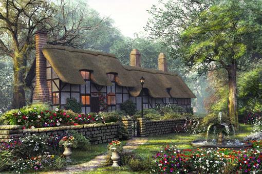 5 Puzzles Dominic Davison Cottage 1000 Teile King