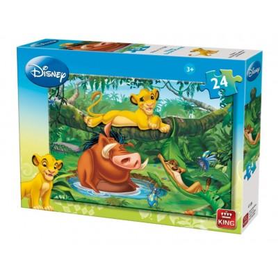 Puzzle King-Puzzle-04713-A Der König der Löwen