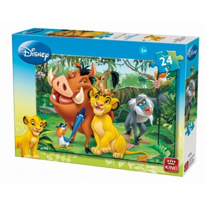 Puzzle King-Puzzle-04713-B Der König der Löwen