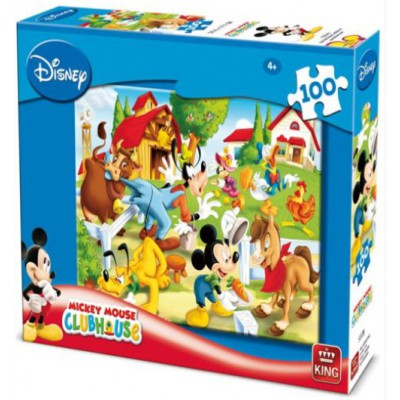 Puzzle King-Puzzle-05112-B Disney: Mickey Mouse