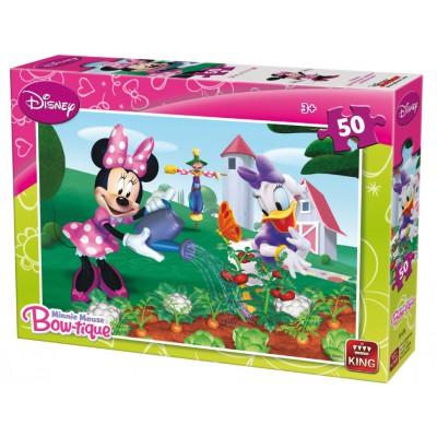 Puzzle King-Puzzle-05147-A Minnie Mouse Bow-tique