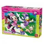 Puzzle  King-Puzzle-05147-B Minnie Mouse Bow-tique