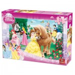 Puzzle  King-Puzzle-05160-B Disney Prinzessinnen
