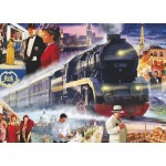 Puzzle  King-Puzzle-05181 Classic Collection - The Orient Express