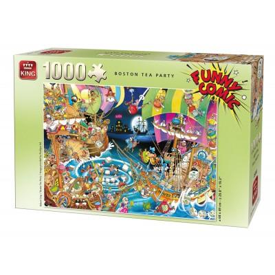 Puzzle King-Puzzle-05222 Robert Crisp - Boston Tea Party